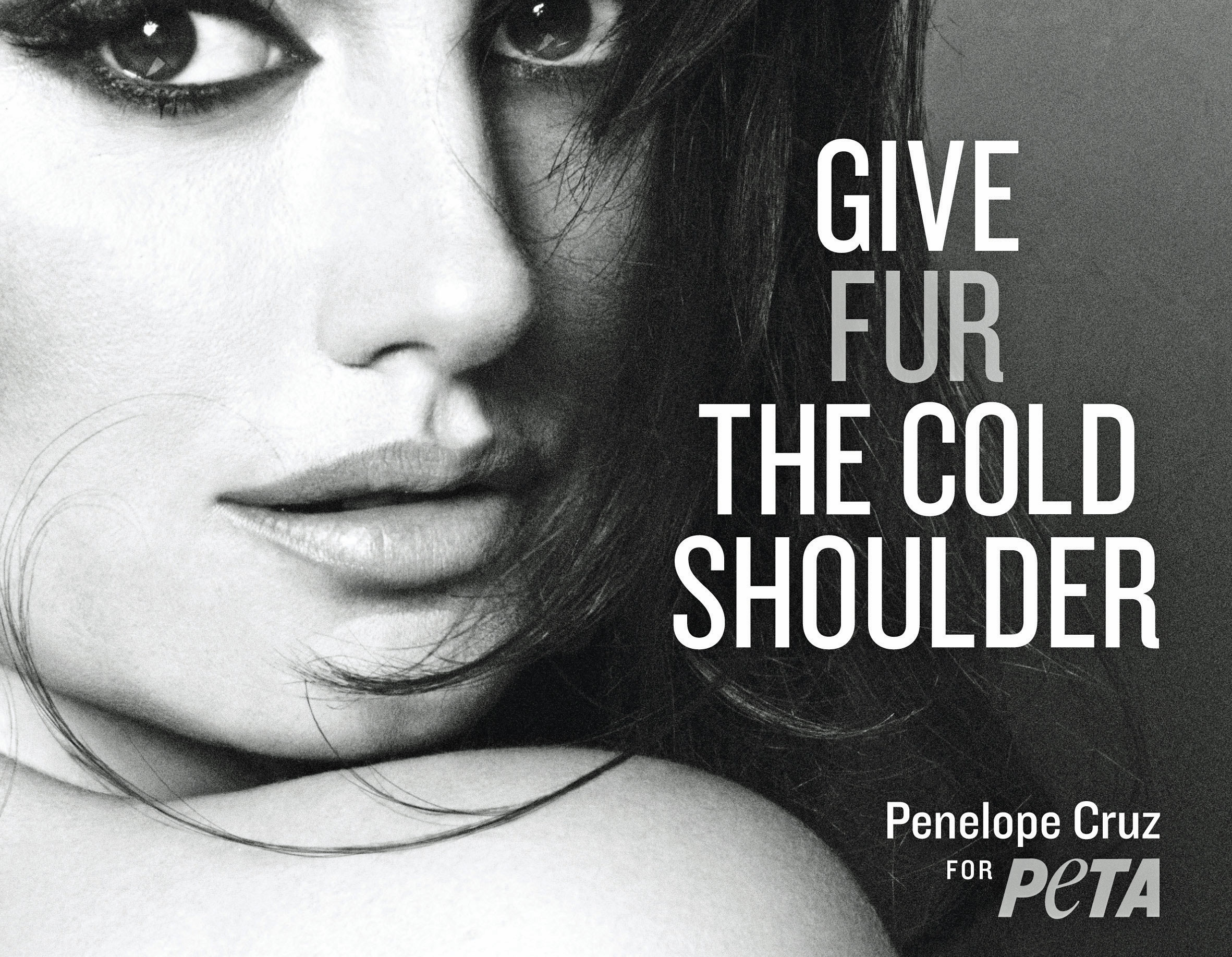 penelopePETA US300a PETA Campaigns Starring Penelope Cruz and Stella McCartney Hit D.C. Fashion Week